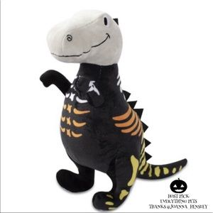 🎉 HP 🎉 🆕 Fringe Studio Skele- Fun T Rex Plush Dog Toy